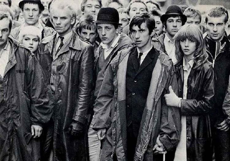 Стиль одежды британских модов