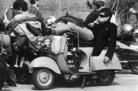 Мод на скутере