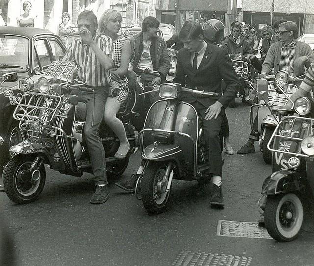 Движение Модов в Великобритании. История, черты стиля, скутеры ...
