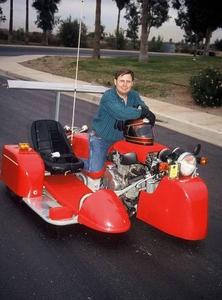 Самый быстрый в мире мотоцикл с коляской