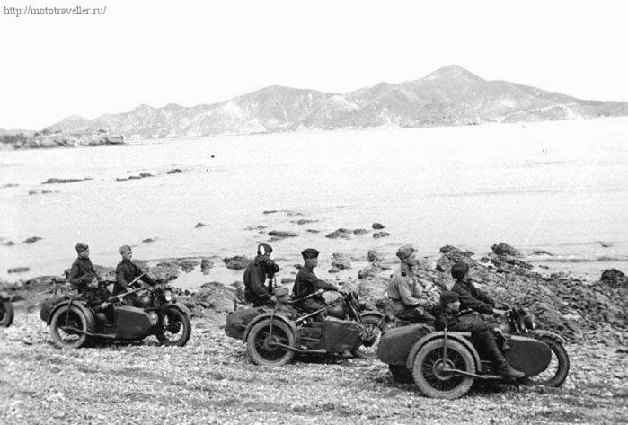 фотография мотоциклов великой отечественной войны