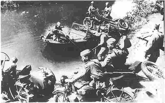 фотография мотоцикла красной армии