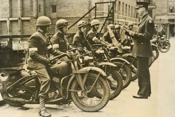 фотографии военных мотоциклов второй мировой войны