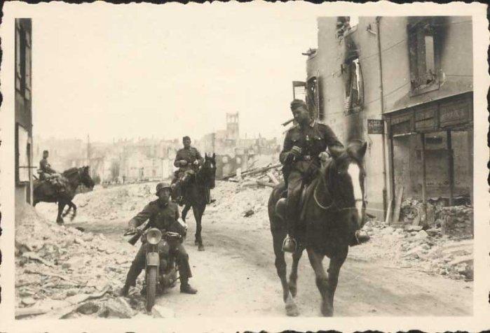 фотография мотоциклов Вермахта