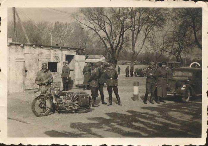 фотография мотоцикла третьего рейха