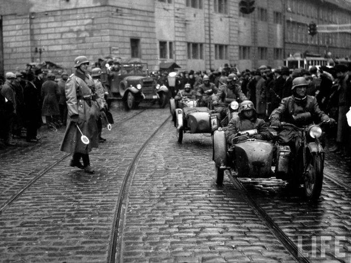 фотография мотоциклов второй мировой войны немцы