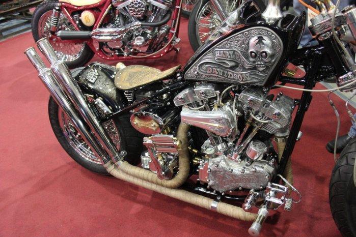 Украшение на мотоцикл своими руками