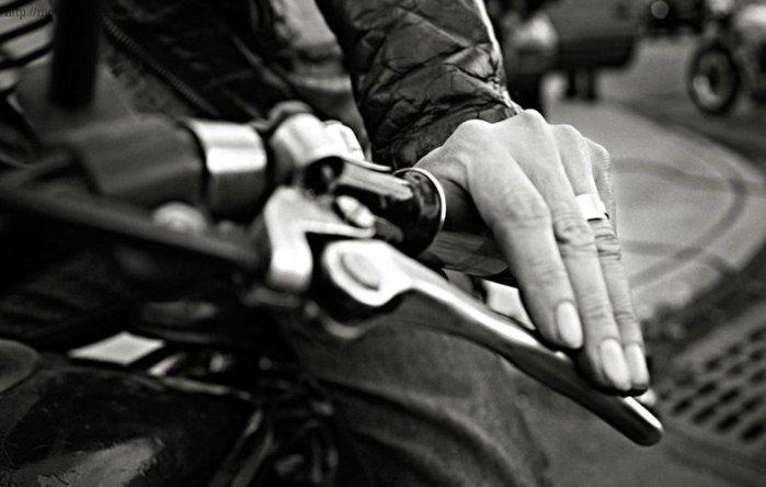Рычаг мотоцикла