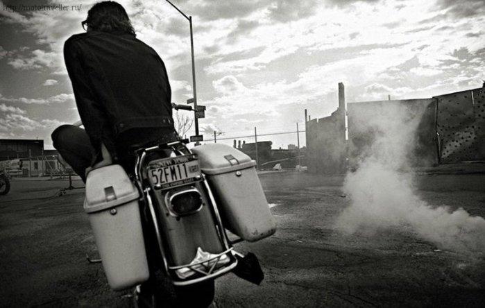 туринговый мотоцикл Харли