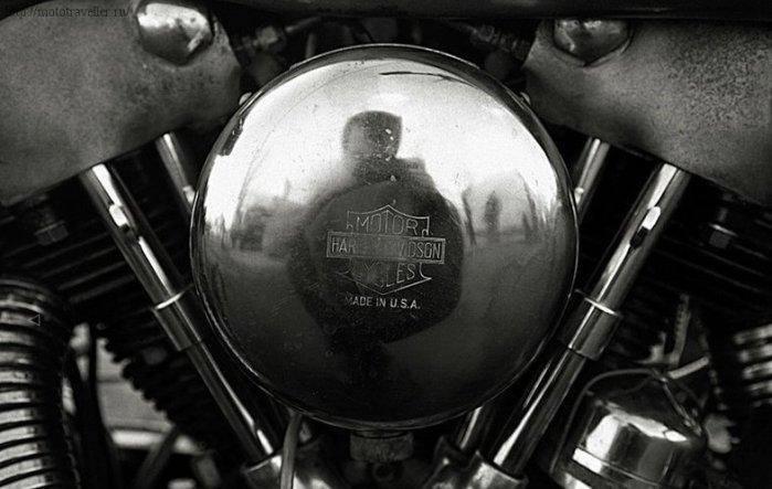 Мотор мотоцикла Harley-Davidson