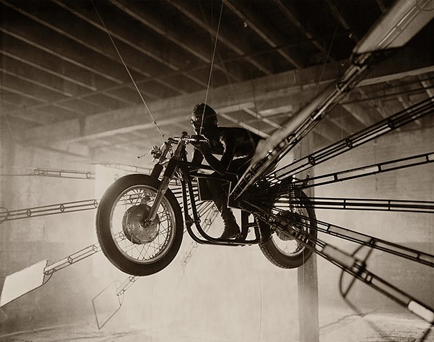 Фотография мотоцикла Билла Фелпса