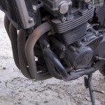 Как обтянуть термолентой глушитель для мотоцикла.