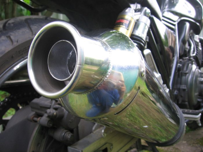 Прямоток на мотоцикл Honda cb 400