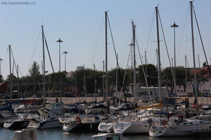 Яхты в Лиссабоне