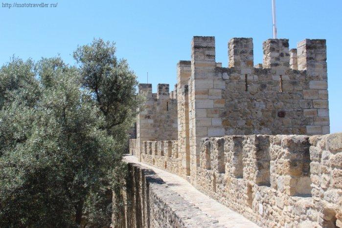 Крепость Святого Георгия. Достопримечательности Лиссабона