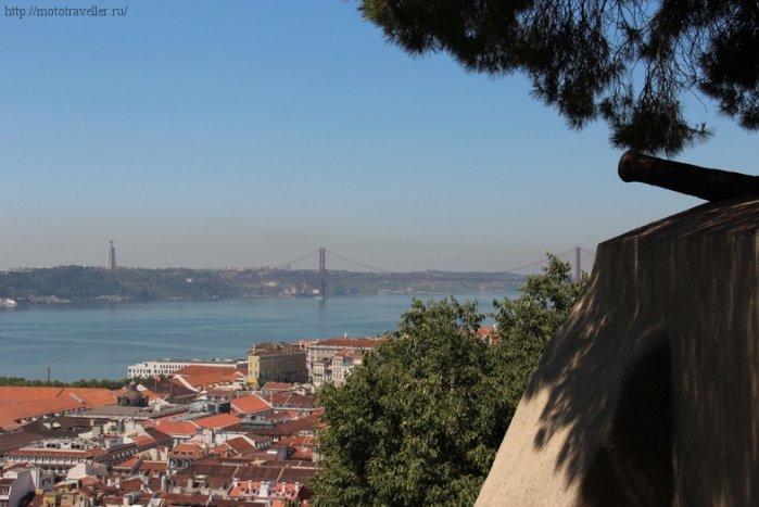 Путешествие на мотоцикле по Португалии
