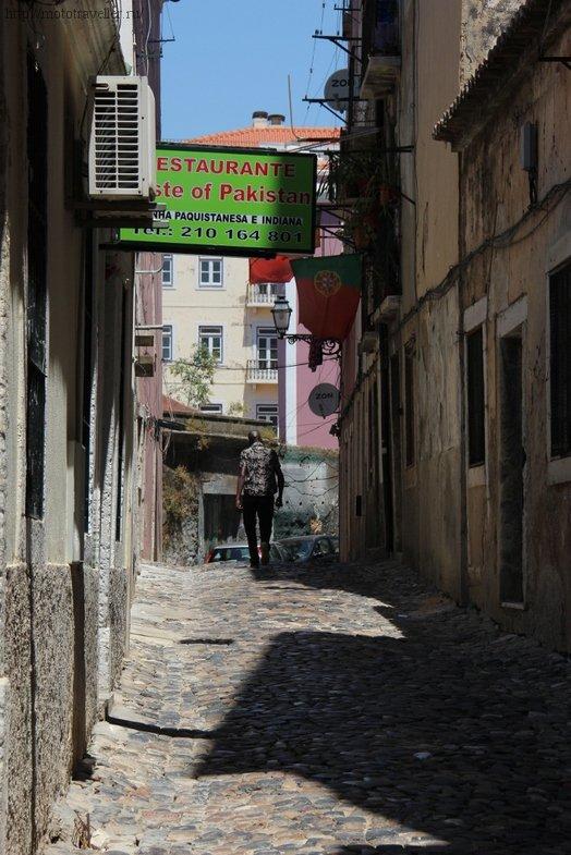 Отчет о поездке на мотоцикле по Португалии. Лиссабон.