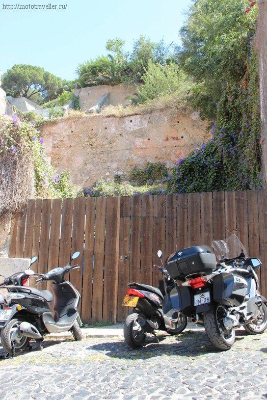 Мотоциклы и скутеры в Лиссабоне