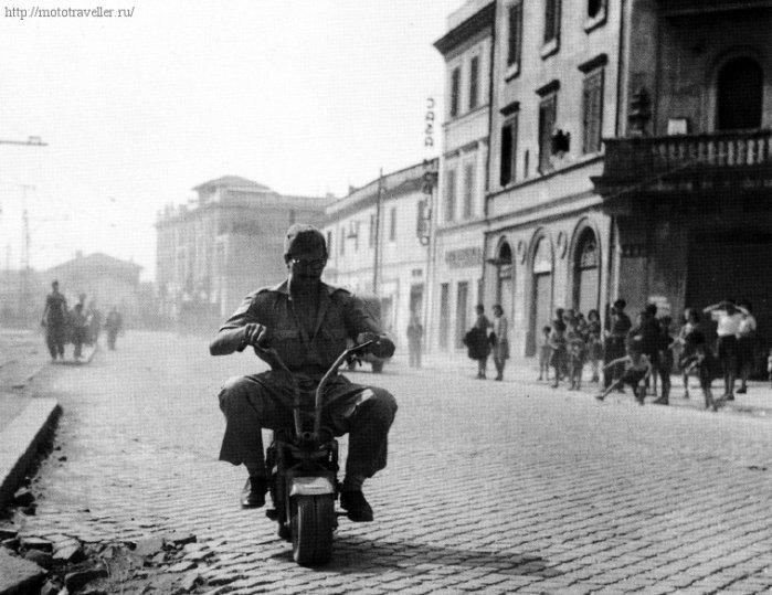 Тесты мотороллера Vologrufo в Риме