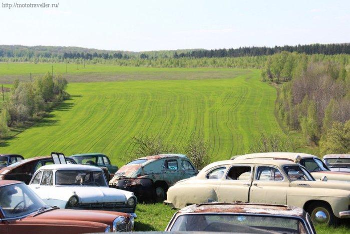 Отчет о поездке на мотоциклах в автомузей Красинца в Черноусово