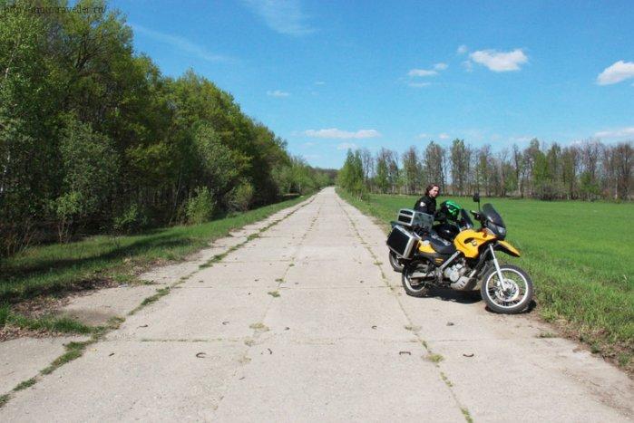 Фотоотчет о поездке на мотоцикле в музей Красинца в Черноусово