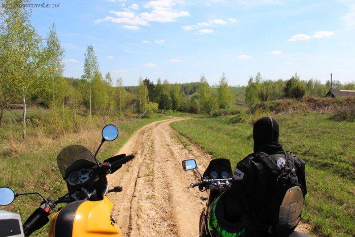 Отчет о поездке на мотоциклах в музей Красинца в Тульской области