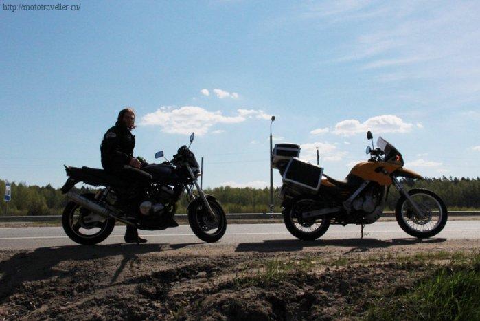 Отчет о поездке на мотоцикле в музей Красинца в Черноусово
