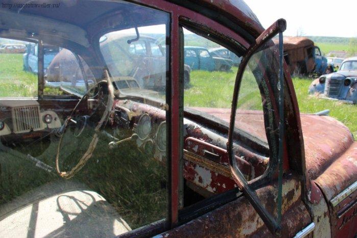 Отчет о посещении музея ретро-автомобилей Красинца в Черноусово Тульская область