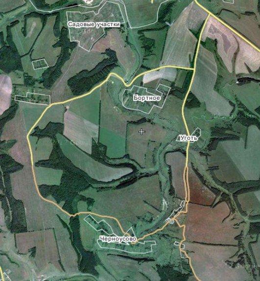 Схема проезда к Музею Красинца в Черноусово