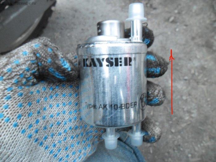 Замена топливного фильтра с решулятором давления на мотоцикле BMW F650GS