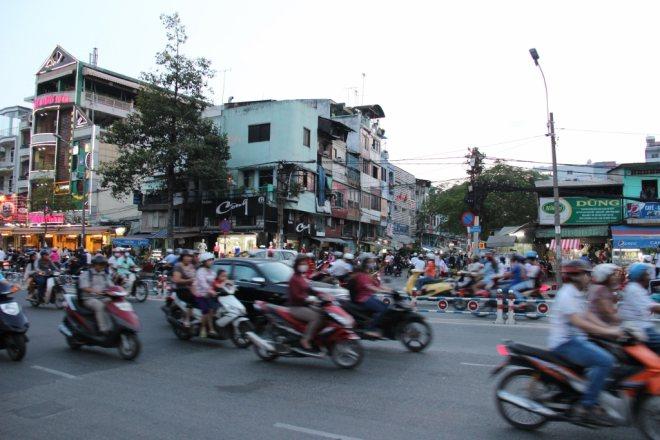 Скутеры во Вьетнаме