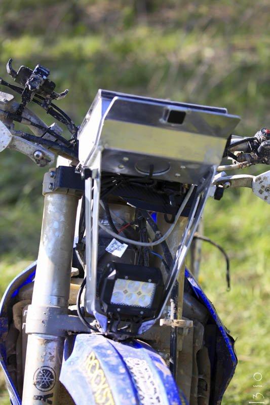Кроссовый мотоцикл с раллийной перемоткой