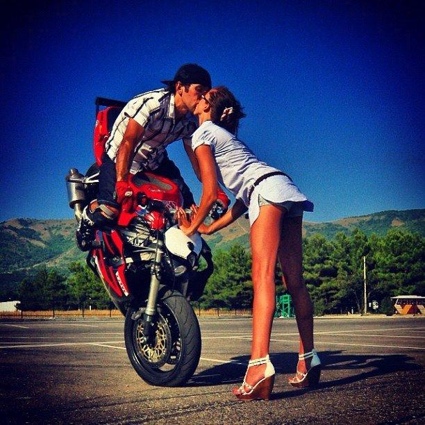 Трюни на мотоциклах. Стантрайдинг.
