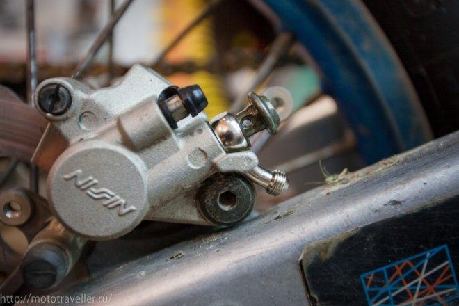 Арммированные тормозные шланги K7 на мотоцикл