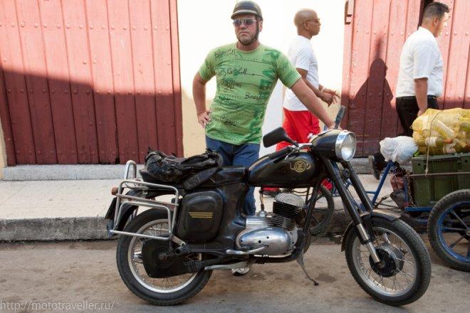 Мотоциклы на Кубе