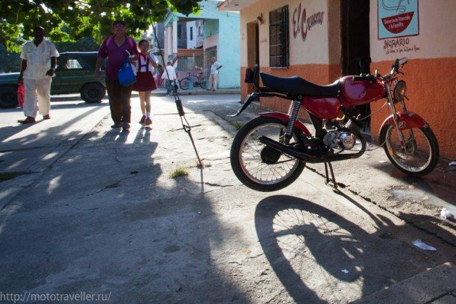 Мотоциклы Кубы