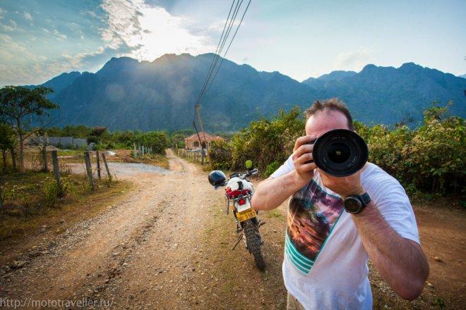 Отчет о путешествии на мотоцикле по Лаосу.