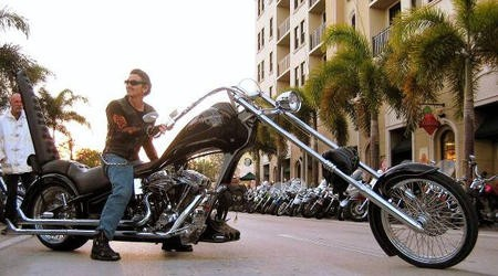 Самый длинный мотоцикл в мире