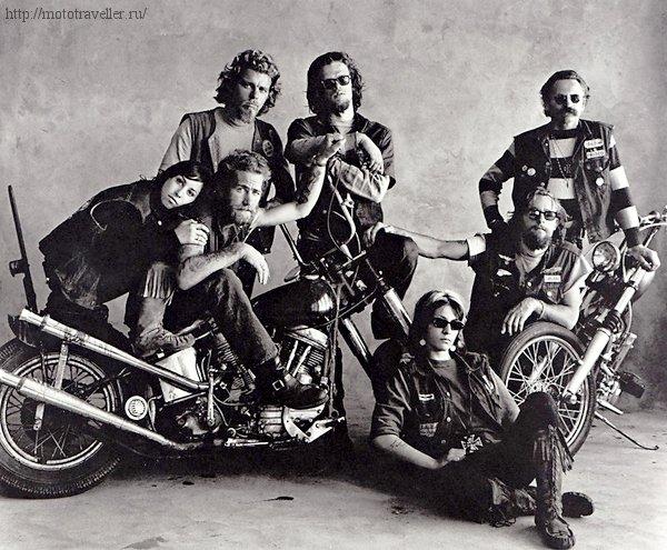 Как называют мотоциклистов